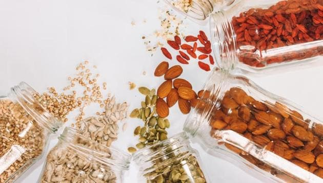 Nuts are a good source of unsaturated fat and contain little saturated fat, they also have protein, minerals, vitamins, fibre, phytosterol, and polyphenols which benefit heart health.(Unsplash)