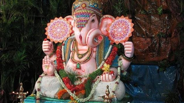 Ganesh Chaturthi 2019: Apart from those celebrating the occasion, the spread of festivities to Delhi has generated employment opportunities to sculptors who usually work in full swing during Diwali.(Ganesh Chaturthi 2019:)
