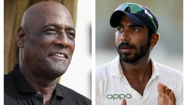 Viv Richards was ecstatic about Indian bowling(HT Collage)