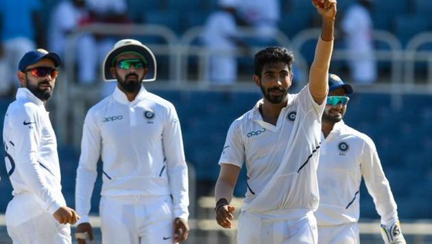 Jasprit Bumrah claims his hat-trick(ICC Twitter)