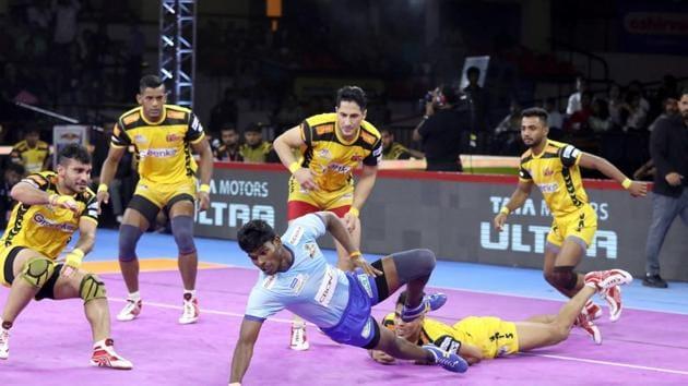 Telugu Titans beat Tamil Thalaivas 35-30(Pro Kabaddi League)