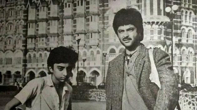 Anil Kapoor made a mark as an actor and a star for the first time in Woh Saat Din(Twitter)