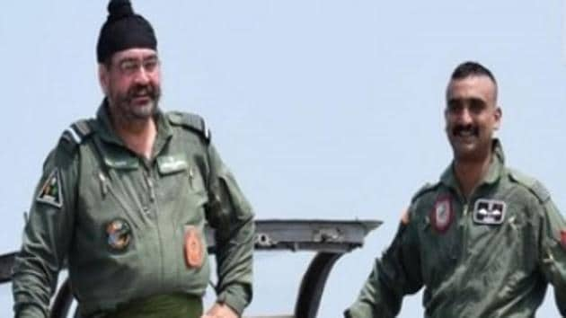 Wing Commander Abhinandan Varthaman who downed a Pakistan F-16 during aerial combat in February flew a joint sortie with IAF Chief BS Dhanoa. Abhinandan Varthaman, who had been captured by Pakistan and later released, was recently cleared to fly again. The braveheart was also honoured with the Vir Chakra. The IAF officer had become the face of the military confrontation between India and Pakistan in February.