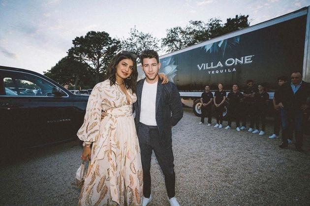 Priyanka Chopra and Nick Jonas will be celebrating the launch of his tequila brand in New York.