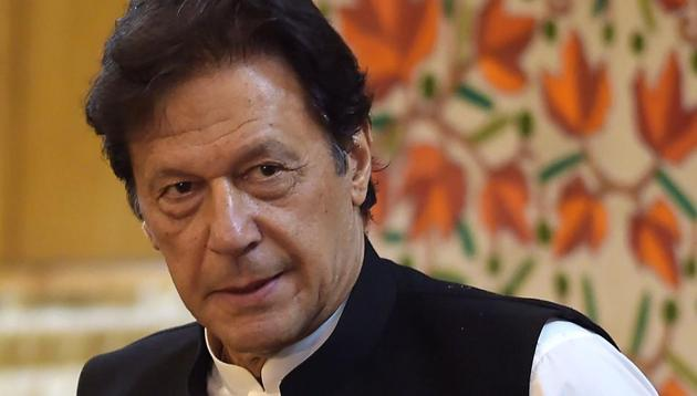Pakistan's prime minister Imran Khan played down the chances of a nuclear fight lately.(AFP/HT ARCHIVES)
