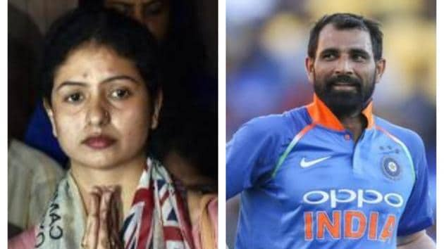 Jahan had, in 2018, filed a police complaint levelling multiple allegations against Mohammed Shami and four of his family members.(PTI/AP)