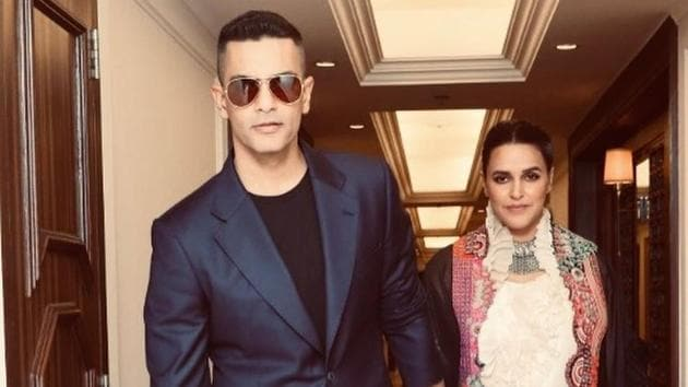 Angad Bedi is all praise for wife Neha Dhupia.