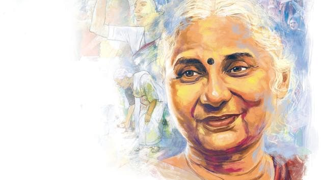 Founder of the Narmada Bachao Andolan and co-founder of the National Alliance of People's Movements, Medha Patkar is a strong advocate of causes of diverse sections like the tribals, dalits, labourers and women across different parts of India.(Illustration: Mohit Suneja)