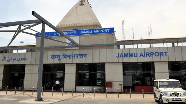 File photo of Jammu airport(HT Photo)