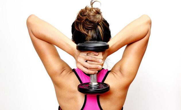 It is not easy for women to add muscles like their male counterparts(Shutterstock)