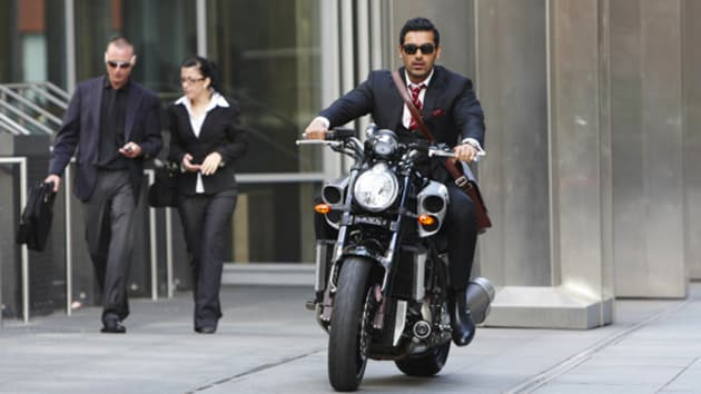 John Abraham's next film will be based on bike racing.