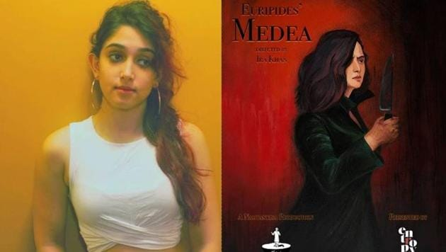 Ira Khan's play Medea is adaptation of Greek play of the same name.