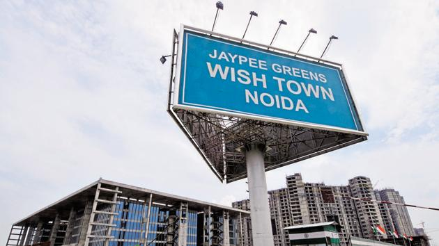 Jaypee Greens , project wish town, at greater Noida.