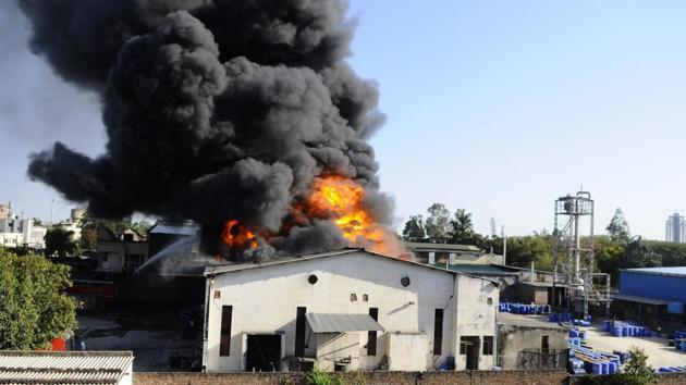 The paint factory had gone up in flames at the Industrial Area, Phase 7, Mohali, on March 15.