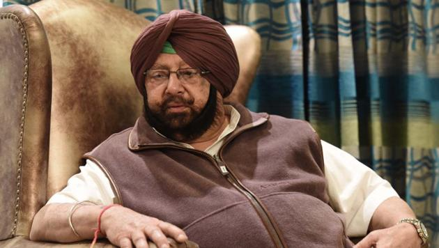 """Chief Minister Amarinder Singh on Tuesday said he was """"relieved"""" after Pakistan announced that a Sikh girl, who was abducted, forcibly converted and married to a Muslim man, was free to return her home in Pakistan.(Sanjeev Sharma / Hindustan Times)"""