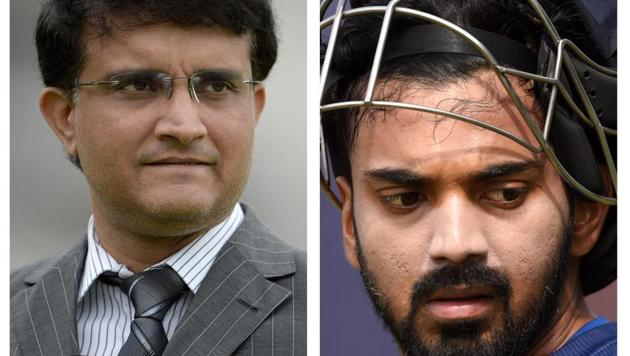Ganguly was not too impressed with KL Rahul(HT Collage)