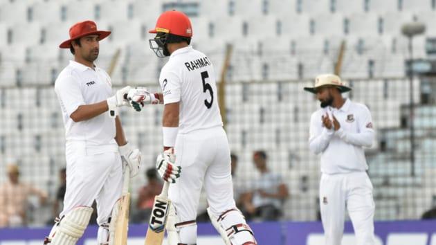 Rahmat Shah scored a ton.(Afghanistan Cricket Board/Twitter)
