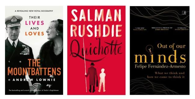 This week's picks include the story of a marriage, a new novel from a master, and a big book on humanity's capacity to imagine things into existence.(HT Team)