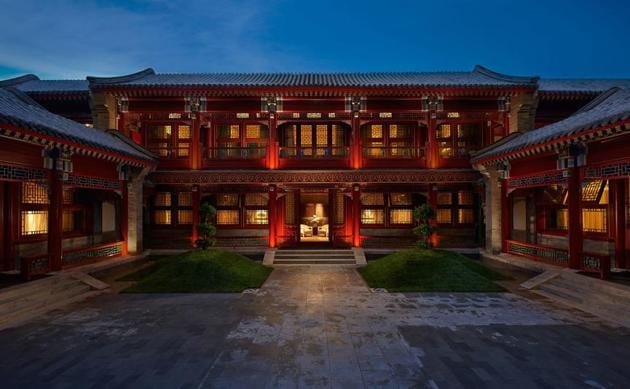 The Waldorf Astoria Hutong Courtyards hotel, Beijing. Because of their prime locations, many of these centuries-old mansions now house heritage hotels, cafes and boutiques.