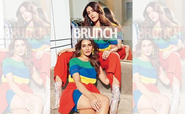 HT Brunch Cover Story: Sibling revelry of the Sanon sisters!
