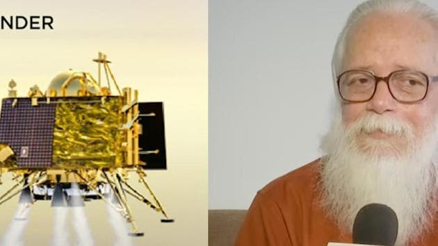 """Former ISRO scientist S Narayanan Nambi said Chandrayaan 2's soft landing is the crucial part in this mission. Nambi explained that """"if you allow this to land freely, it will go on crash"""". Chandrayaan 2 was launched from India's Satish Dhawan Space Centre on 22 July. Chandrayaan 2 left Earth's orbit on Aug 14 following a trans Lunar Insertion. Lander Vikram is set to attempt a soft landing near the moon's south pole."""