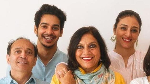 Meera Nair, Vikram Seth, Tabu and Ishaan Khatter met ahead of A Suitable Boy shoot.
