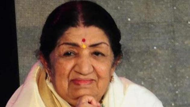 Lata Mangeshkar will turn 90 on September 28 this year.(HT Photo)