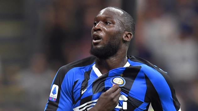 File image of Inter Milan footballer Romelu Lukaku.(REUTERS)