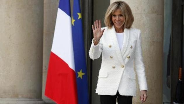 """A Brazilian government minister said French first lady Brigitte Macron was """"truly ugly"""".(AP Photo)"""