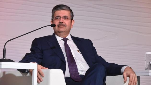 Uday Kotak, Founder, MD and CEO of Kotak Mahindra Bank Ltd, during the Hindustan Times Mint-Asia Leadership Summit, in Singapore, on Friday, September 6(HT Photo)