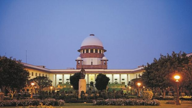 It took strong exception to the HC's tinkering of its 2017 verdict on right to conduct administration and prayers in churches in a dispute between two factions.(HT image)