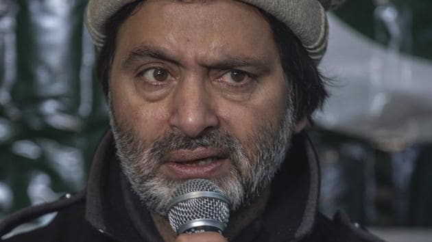 A special court has issued production warrant against Yasin Malik, the banned Jammu and Kashmir Liberation Front (JKLF) chief and main accused in killing of four Indian Air Force personnel in Kashmir 30 years ago, officials said.(ANI File Photo)