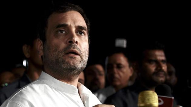 Rahul Gandhi said the missionhad laid the foundation for many more path-breaking and ambitious Indian space forays.(ANI)