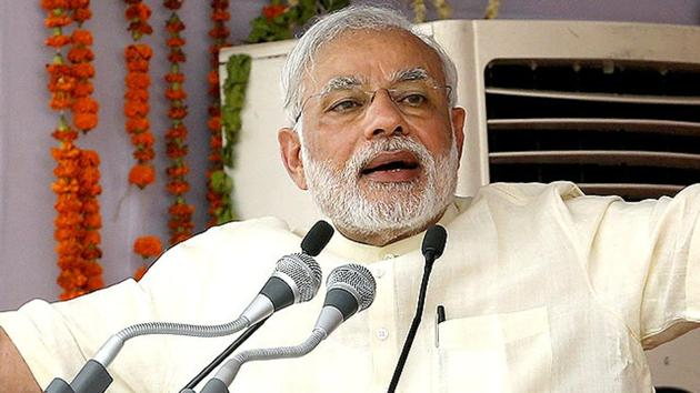 Prime Minister Narendra Modi will address the nation from ISRO Control Centre here on Saturday morning.. (Reuters File Photo)