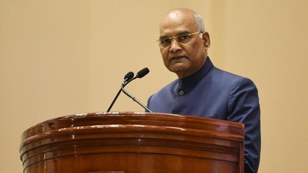 President Ram Nath Kovind(Vipin Kumar/HT PHOTO)
