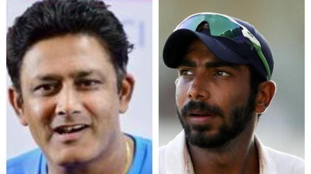 Anil Kumble was all praise for Jasprit Bumrah(HT Collage)