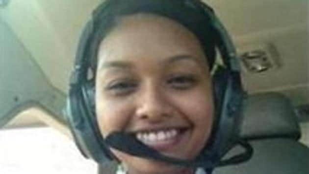 Anupriya Madhumita Lakra will join Indigo Airlines as a co-pilot later this month.(HT PHOTO.)