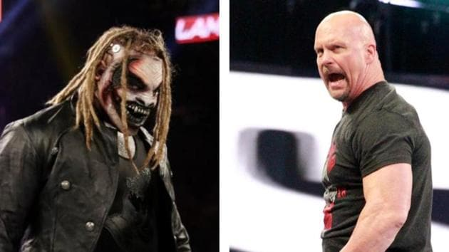 The Fiend has posted a crytic message for Stone Cold Steve Austin.(WWE/HT collage)
