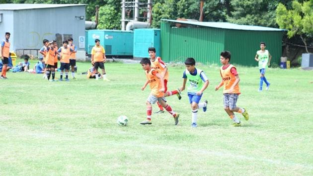 The much-awaited tournament has players very excited and rigorous training routines are on in full swing.(HT Photo)