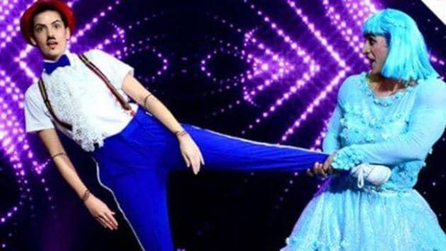 Natasha Stankovic and Aly Goni during their performance on Nach Baliye 9.