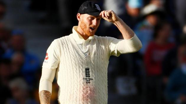 England's Ben Stokes reacts.(Action Images via Reuters)