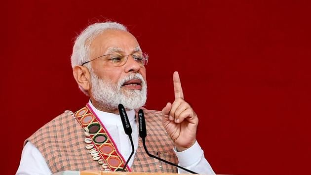 PM Narendra Modi also announced that India would raise its target for restoring degraded land from 21 million hectares to 26 million hectares by 2030.(File photo: PTI)