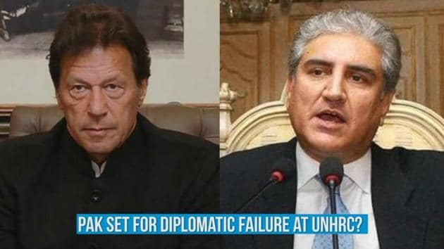 """""""Pakistan's bid to internationalize the Kashmir issue again, this time at the UNHRC will come to a naught,"""" opines Hindustan Times' Executive Editor Shishir Gupta in HT Conversations. Pakistan's foreign minister Shah Mehmood Qureshi is representing his country at the 42nd session of the UNHRC and tweeted on Monday that Pakistan will """"speak definitively"""" at the session on alleged """"atrocities in Kashmir."""" Shishir Gupta explains how the Indian government is planning to counter yet another attempt by Pakistan to internationalize the Kashmir issue. Watch the full video for more details."""