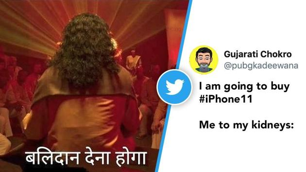Apple Event 2019: A Twitter user combined the kidney joke with a dialogue from Netflix series Sacred Games to share their reaction.(Twitter/@pubgkadeewana)