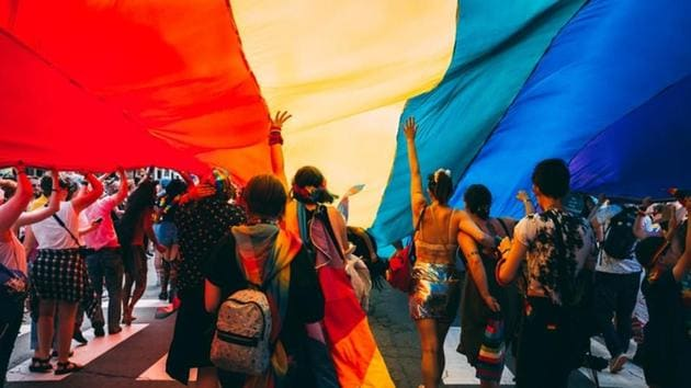 The parade in the capital Sarajevo ended peacefully despite fears of violence prompted by aggressive hate speech online in a country where anti-gay sentiment can often be heard in public.(Unsplash)