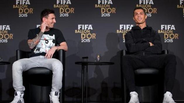 File photo of Cristiano Ronaldo and Lionel Messi.(Getty Images)