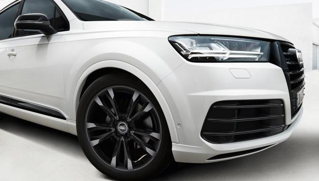 The limited edition Audi Q7 SUV.