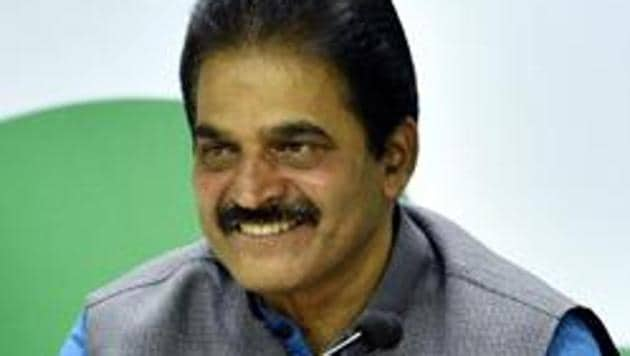 The meeting with the party's mid-rung leadership will be held at the party's headquarters at Akbar Road, the first such meeting with KC Venugopal after he took charge.(Amal KS/HT PHOTO)