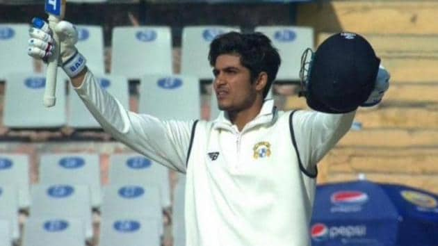 Shubman Gill scored a classy 90 in the first innings against South Africa A(Twitter)