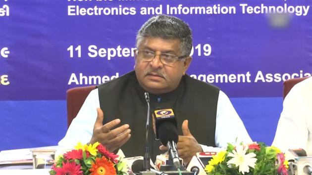 Union Minister of Law and Justice Ravi Shankar Prasad said that Sardar Patel was right while Jawaharlal Nehru was wrong on the Kashmir issue. He added that the scrapping of Article 370 is in the interest of Jammu and Kashmir and India. The Union Minister was speaking to media in Ahmadabad.